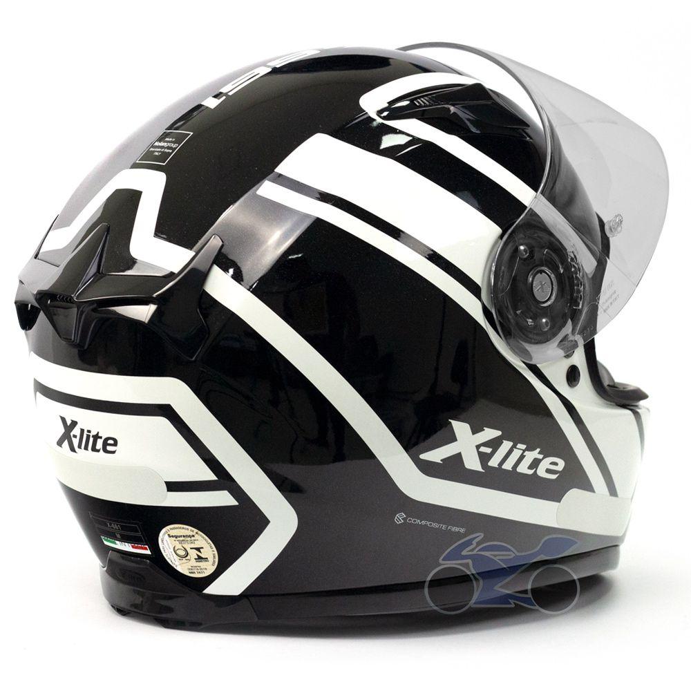 Capacete X-lite X-661 Conrade Branco (44) - GANHE TOUCA BALACLAVA X-LITE - Blackfriday  - Nova Suzuki Motos e Acessórios