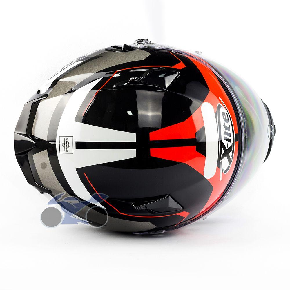 Capacete X-lite X-661 Motivator Vermelho (46) - GANHE TOUCA BALACLAVA X-LITE - Blackfriday  - Nova Suzuki Motos e Acessórios