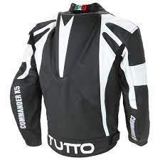 Jaqueta Tutto couro commander X5 (somente tam 46)  - Nova Suzuki Motos e Acessórios