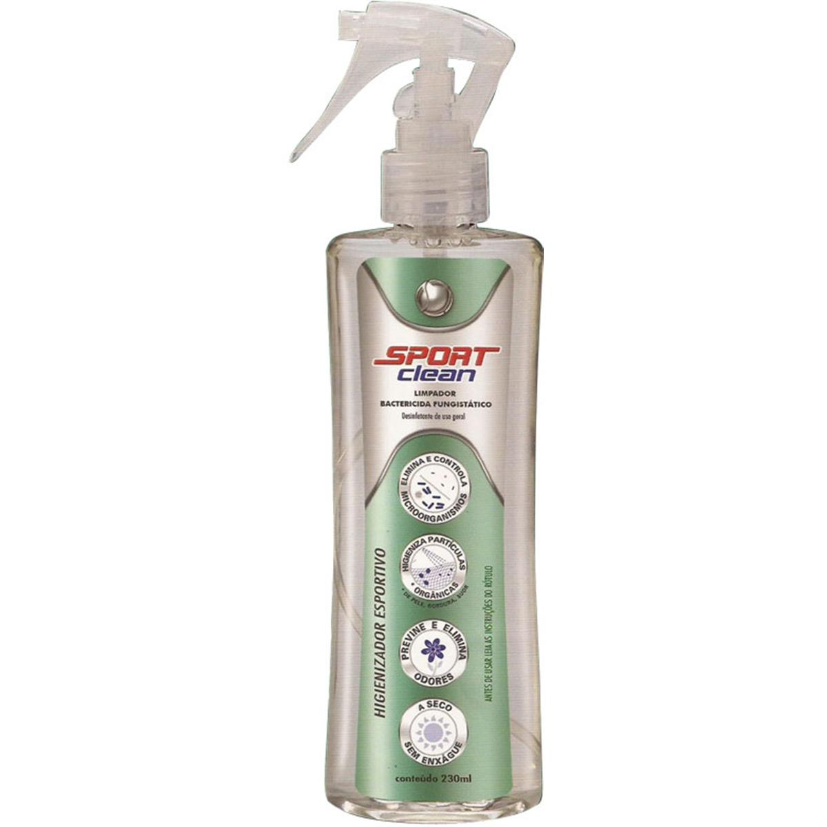 Desodorizador de Capacetes (SPORT CLEAN 230ML)  - Nova Suzuki Motos e Acessórios