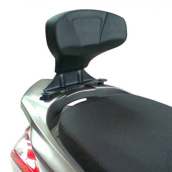 Encosto de Garupa Givi TB82 para Kymco DOWNTOWN 300i ABS - Pronta Entrega  - Nova Suzuki Motos e Acessórios