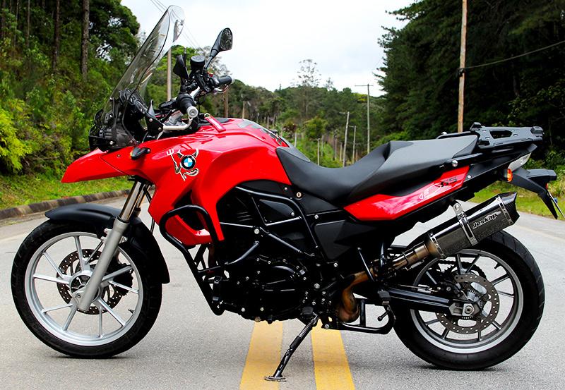 Escapamento Jeskap BMW K7 Carbono F650GS / F800GS / F800R /  R1200 GS - 10/12  - Nova Suzuki Motos e Acessórios