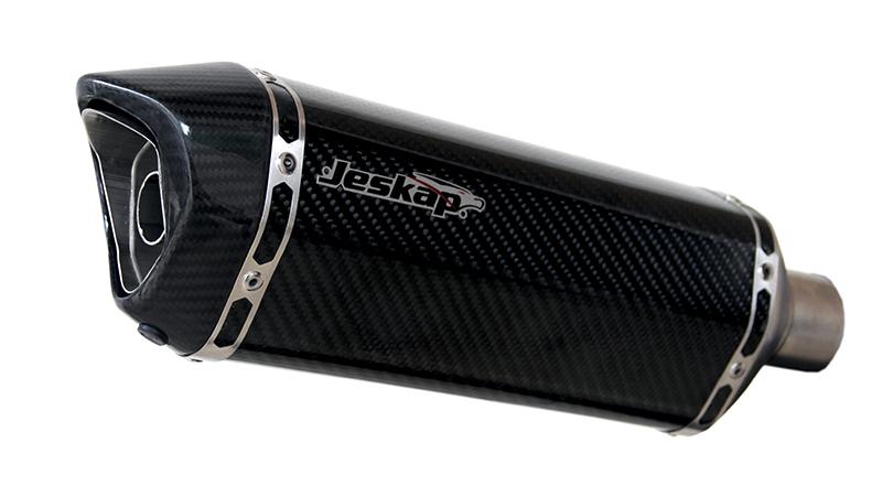 Escapamento Jeskap K7 Carbono Suzuki Bandit 650/1250 09/12  - Nova Suzuki Motos e Acessórios