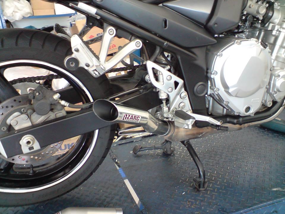 Escapamento Zarc GP Para Suzuki Bandit 650/1250 Injetada  - Nova Suzuki Motos e Acessórios
