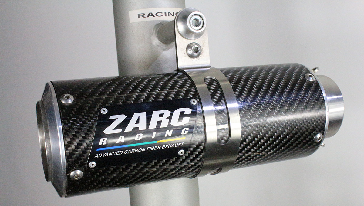 Escapamento Zarc Racing 63 Para Suzuki BANDIT 650 INJETADA  - Nova Suzuki Motos e Acessórios