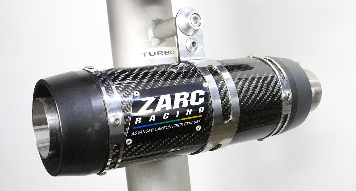 Escapamento Zarc Turbo Duplo Para Suzuki HAYABUSA 1999/2007  - Nova Suzuki Motos e Acessórios