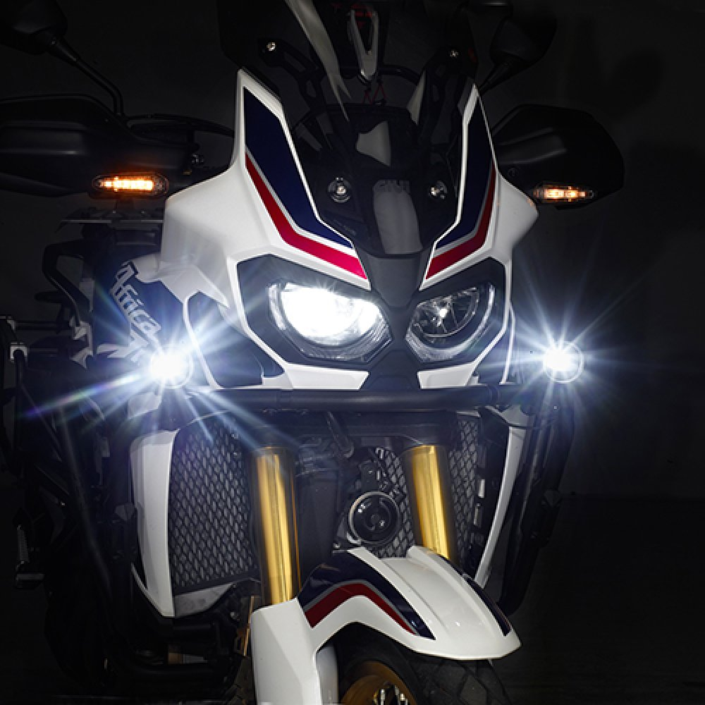 Farol de milha givi Universal  - Nova Suzuki Motos e Acessórios