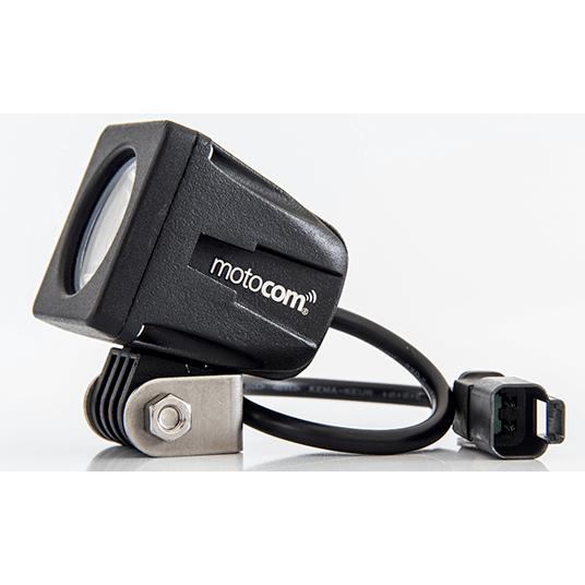 Farol de Milha Auxiliar LED Quadrado (Motocom) o PAR  - Nova Suzuki Motos e Acessórios
