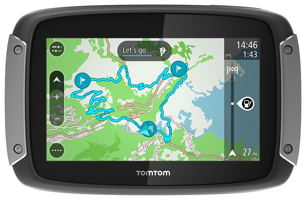 GPS para Moto TomTom Riders400 4Polegadas  - Nova Suzuki Motos e Acessórios