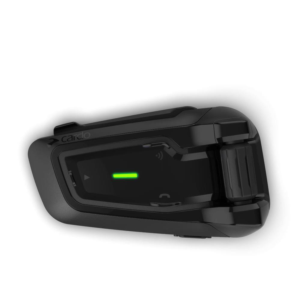 Intercomunicador Cardo ScalaRider PackTalk Bold Black Unitário - Até 15 Pilotos  - Nova Suzuki Motos e Acessórios