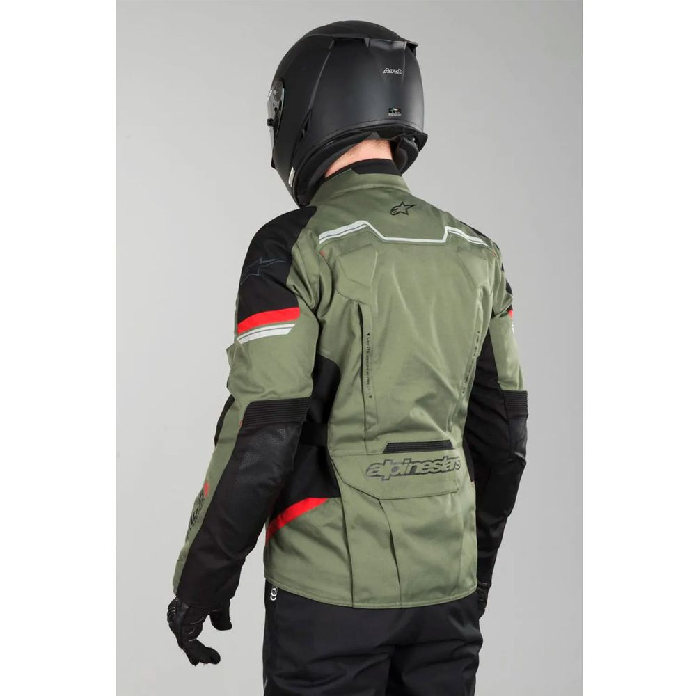 Jaqueta Alpinestars Andes V2 Drystar® Green/Military  ( SÓ TAMANHO S DISPONIVEL)  - Nova Suzuki Motos e Acessórios