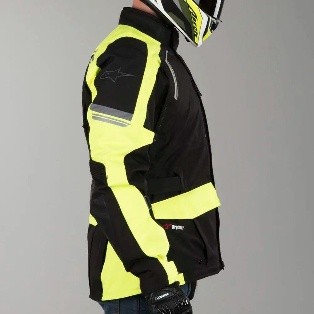 Jaqueta Alpinestars Andes V2 Drystar® Yellow/preto  - Nova Suzuki Motos e Acessórios