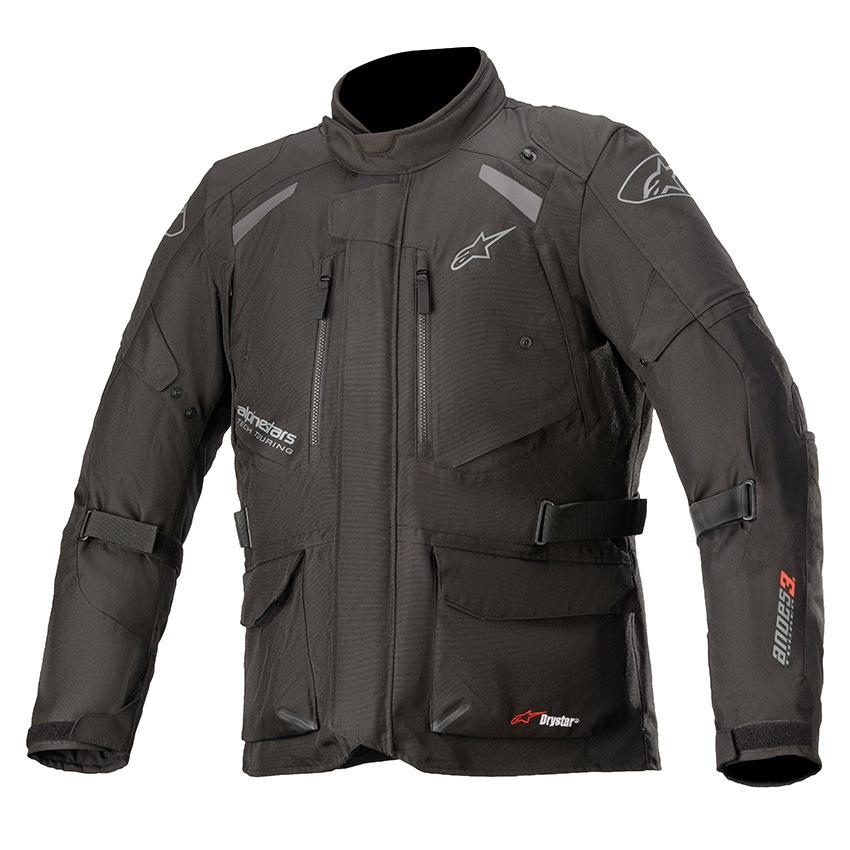 Jaqueta Alpinestars Andes V3 Drystar® Preta Parka  - Nova Suzuki Motos e Acessórios