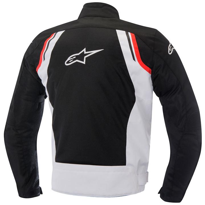 Jaqueta Alpinestars AST-AIR (Black/White/Red) NOVA!  - Nova Suzuki Motos e Acessórios