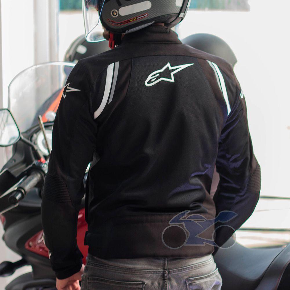 Jaqueta Alpinestars AST-AIR PRETA - NOVA!   - Nova Suzuki Motos e Acessórios