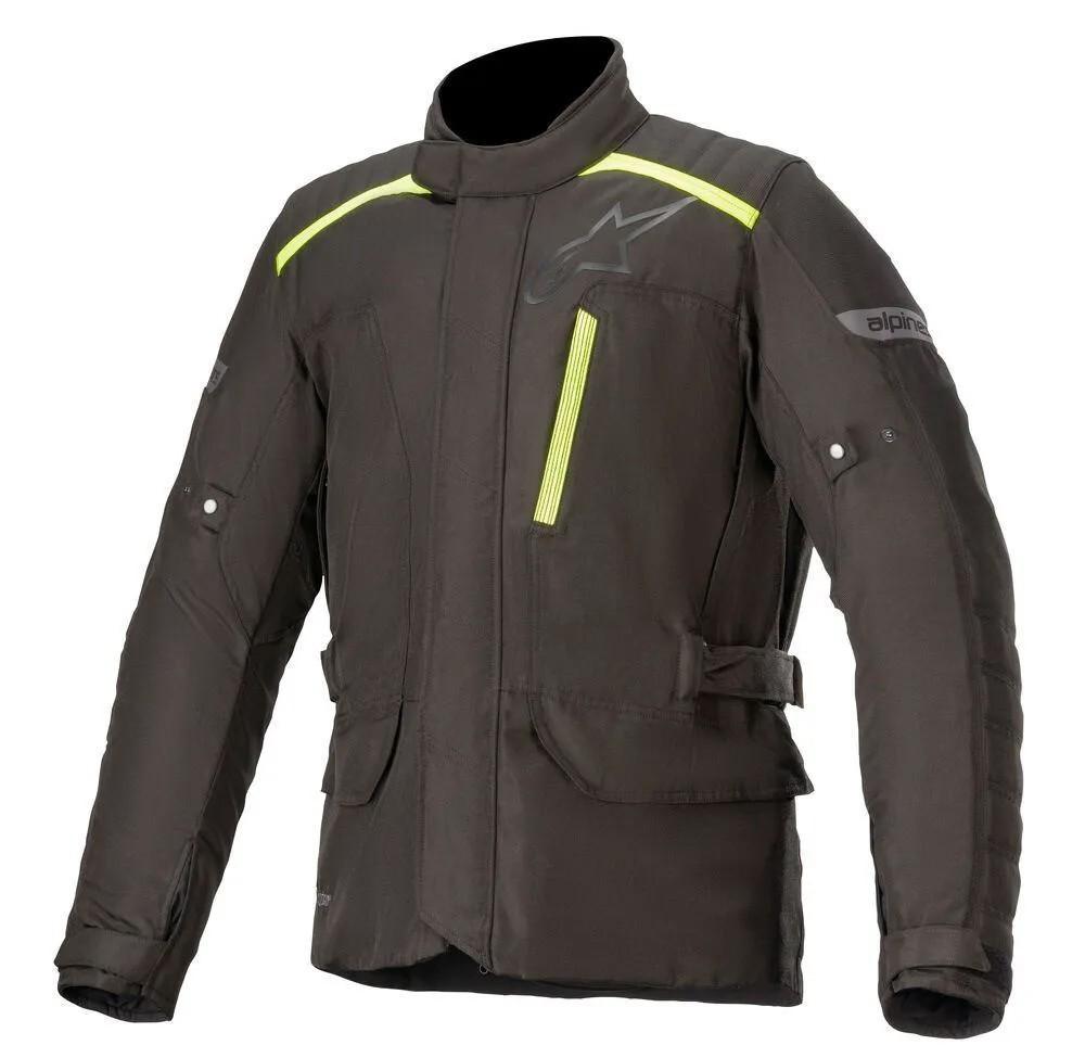 Jaqueta Alpinestars Gravity Drystar® Black/Verde (Parka Big Trail)  - Nova Suzuki Motos e Acessórios