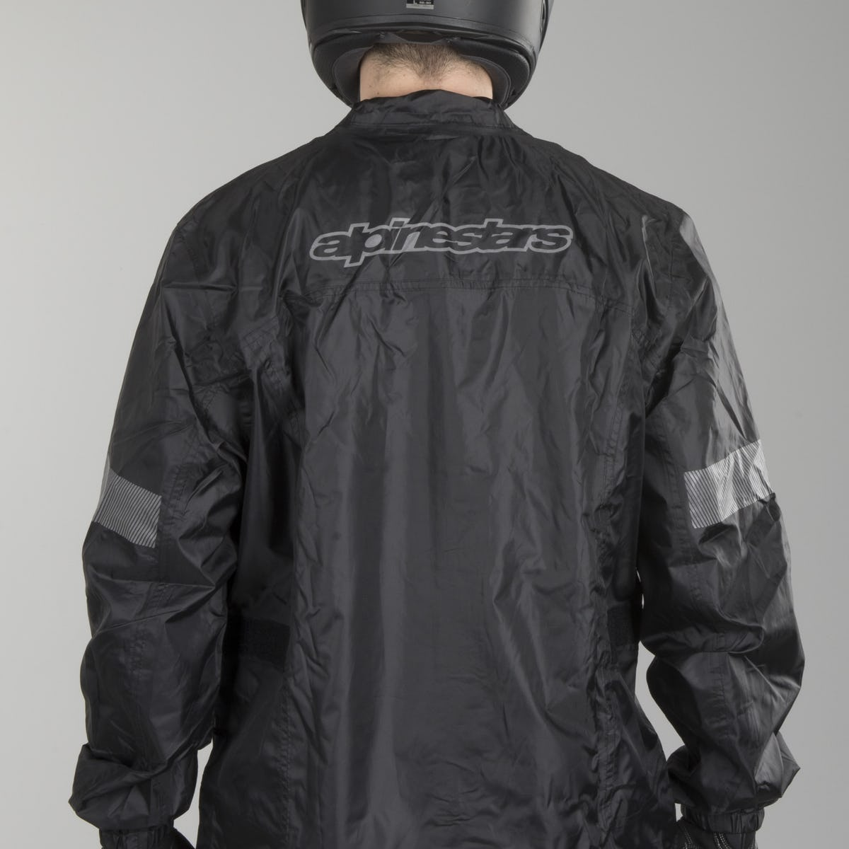 Jaqueta Alpinestars Hurricane Rain (Preto)  - Nova Suzuki Motos e Acessórios