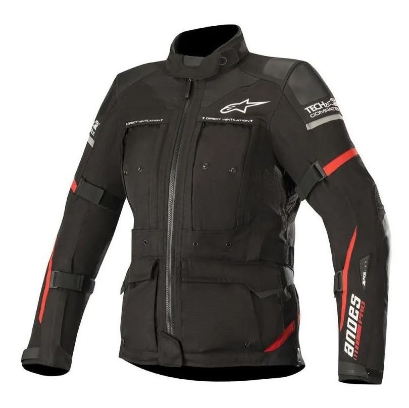 Jaqueta Alpinestars Stella Andes Pro Drystar® Air Tech Compatible - Black/Red   - Nova Suzuki Motos e Acessórios