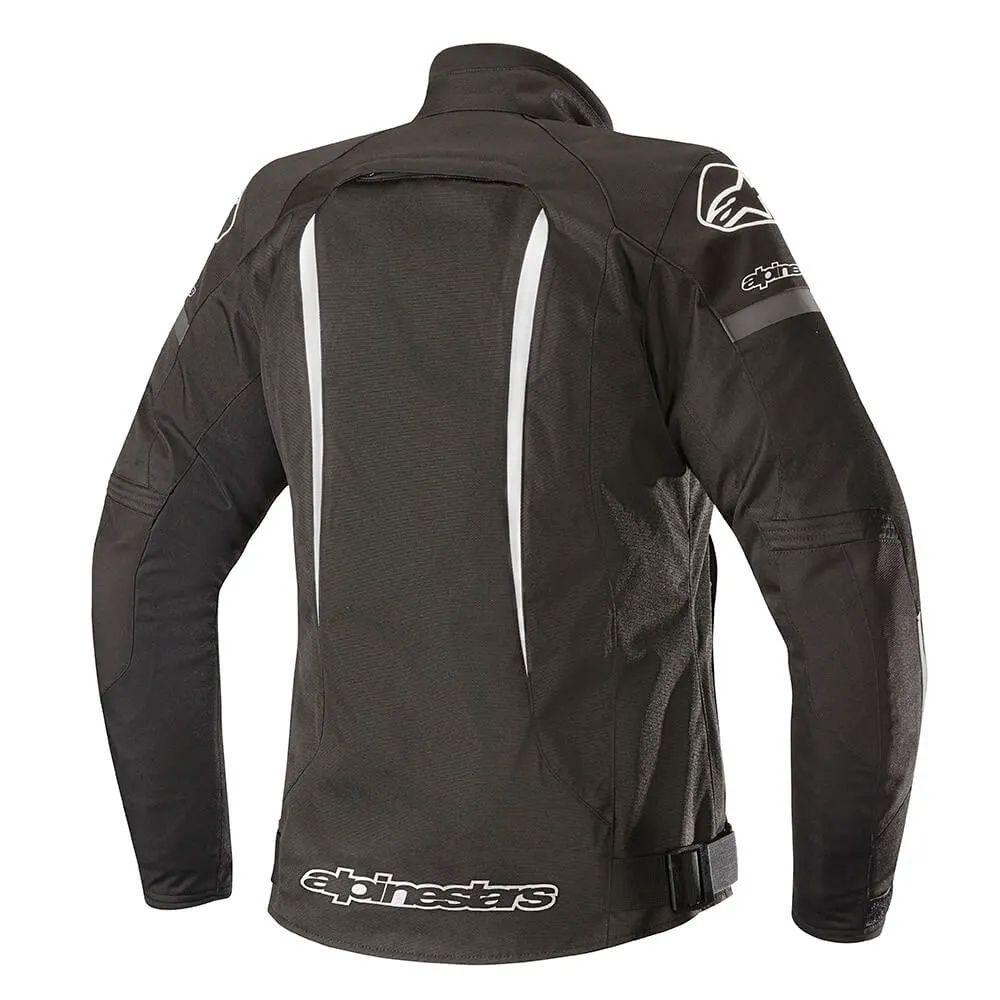 Jaqueta Alpinestars Stella Gunner V2 WP - Black/White  - Nova Suzuki Motos e Acessórios