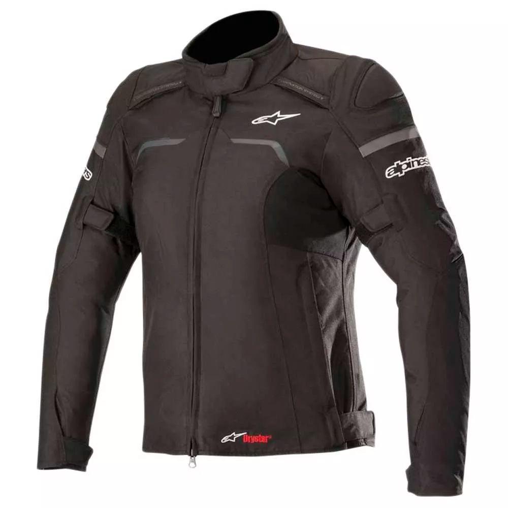 Jaqueta Alpinestars Stella Hyper Drystar - Black   - Nova Suzuki Motos e Acessórios