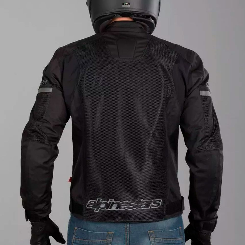 Jaqueta Alpinestars T-faster Air - Black  - Nova Suzuki Motos e Acessórios