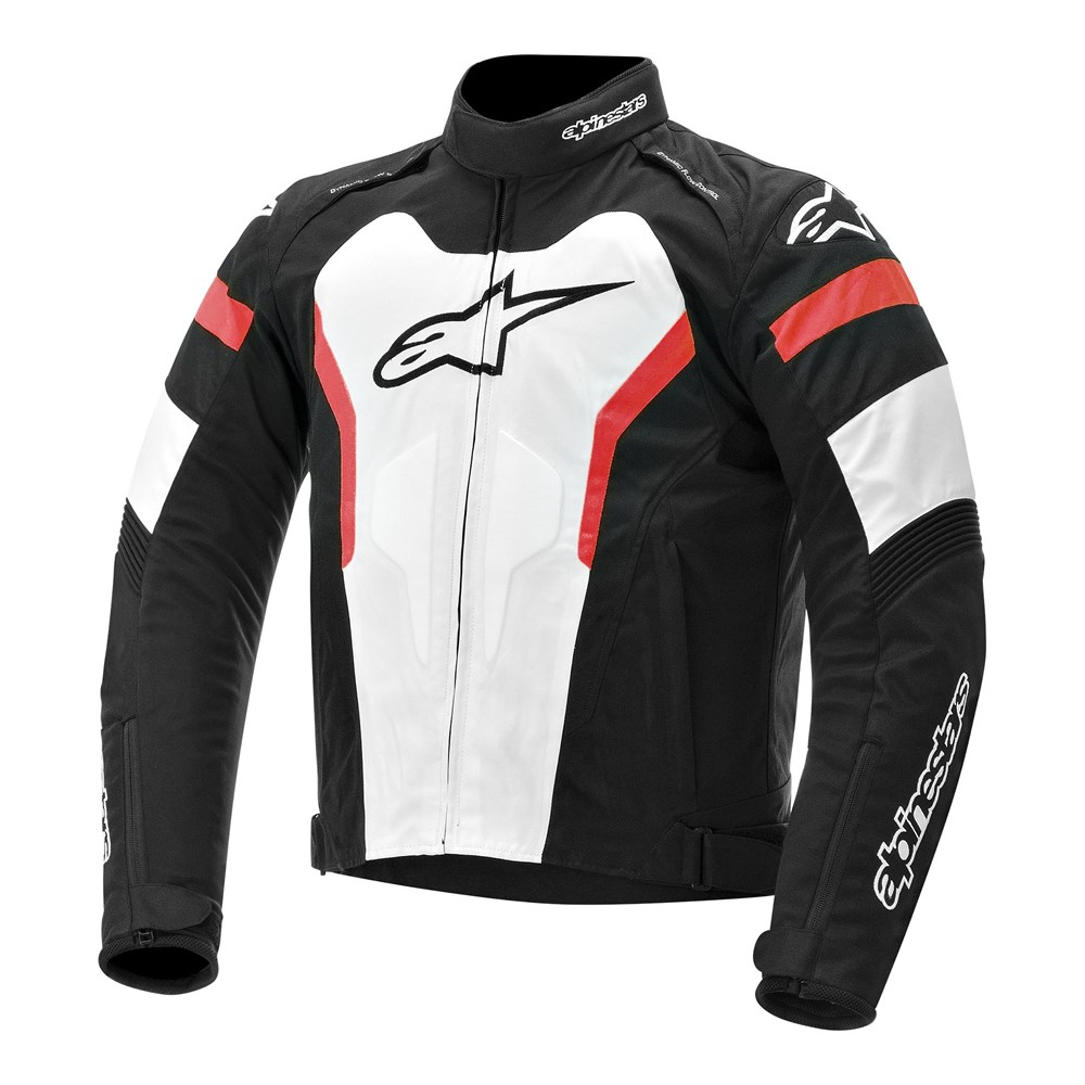 Jaqueta Alpinestars T-GP Pro Black/White/Red  - Nova Suzuki Motos e Acessórios