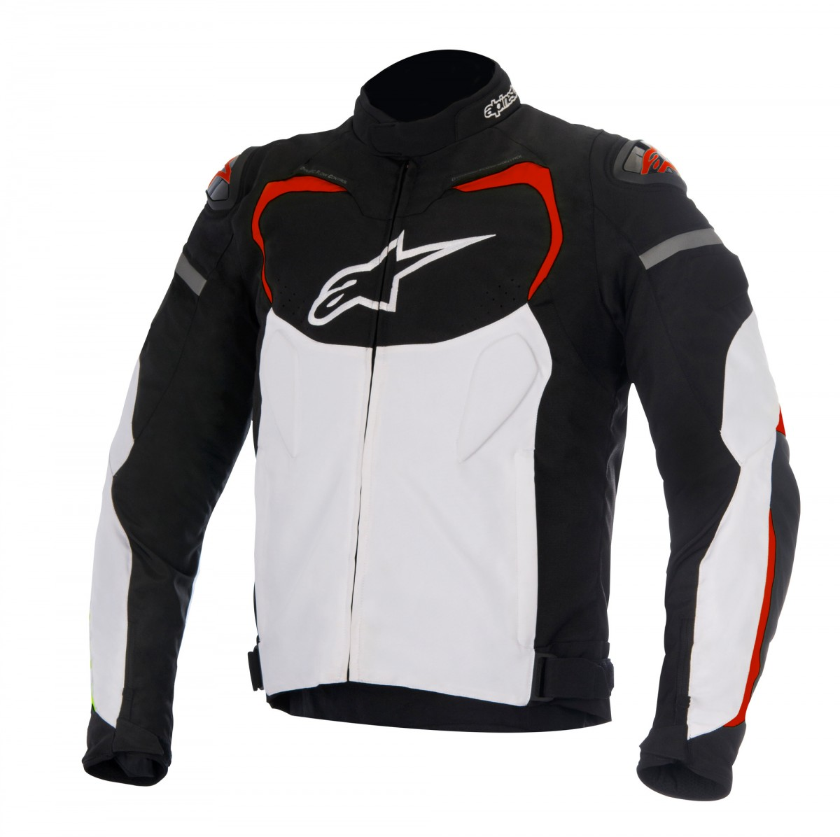 Jaqueta Alpinestars T-GP Pro (Black/White/Red)  - Nova Suzuki Motos e Acessórios