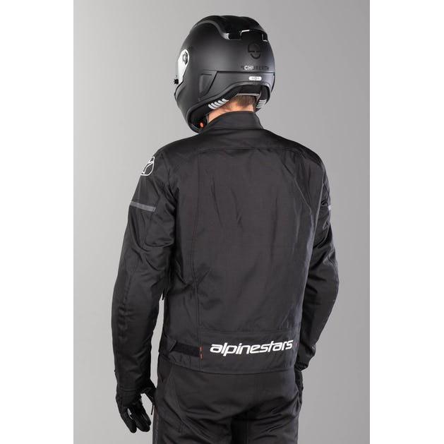 Jaqueta Alpinestars T-SP S Drystar® Black 100% IMPERMEÁVEL  - Nova Suzuki Motos e Acessórios
