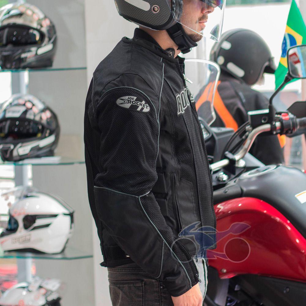 Jaqueta Joe Rocket Phoenix Impermeável e Ventilada  - Nova Suzuki Motos e Acessórios