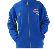 jaqueta Moleton Suzuki MotoGP 100% POLIESTER  - Nova Suzuki Motos e Acessórios