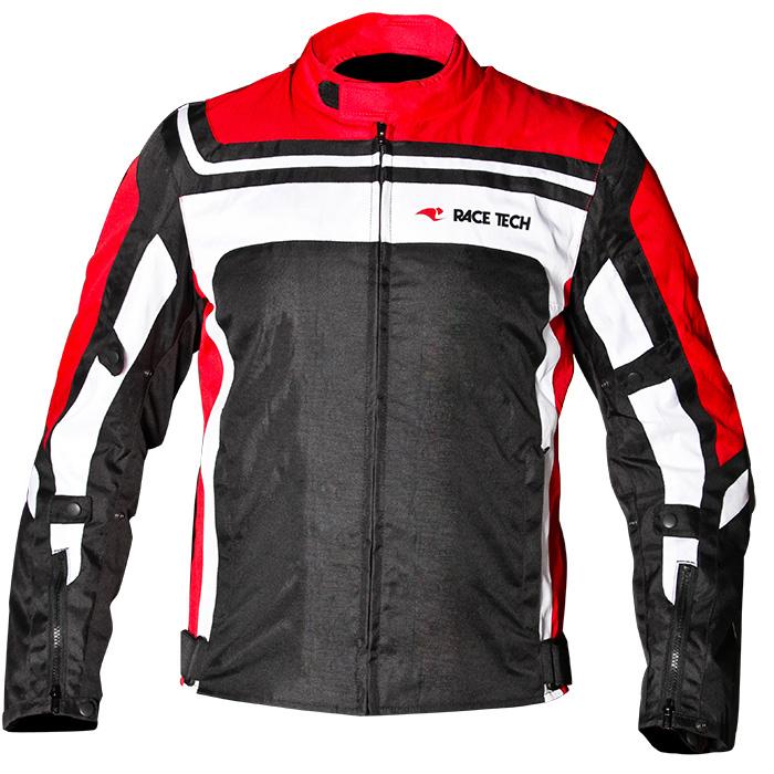 Jaqueta Race Tech Ímola - Vermelha  - Nova Suzuki Motos e Acessórios