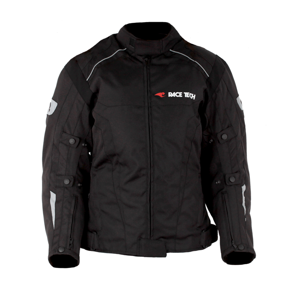 Jaqueta Race Tech Racer II - Preto  - Nova Suzuki Motos e Acessórios