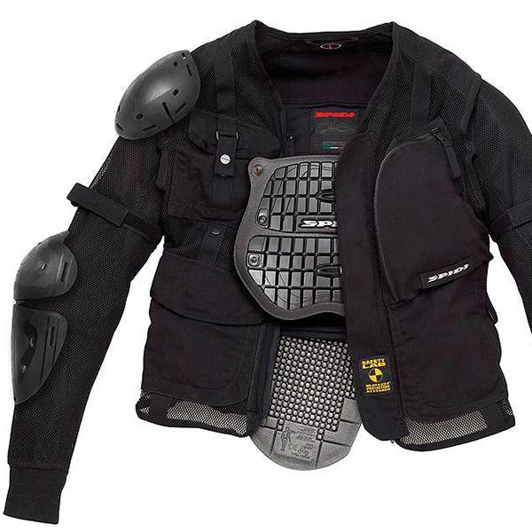 Jaqueta Spidi Multitech Armor EVO - Proteção Completa  - Nova Suzuki Motos e Acessórios