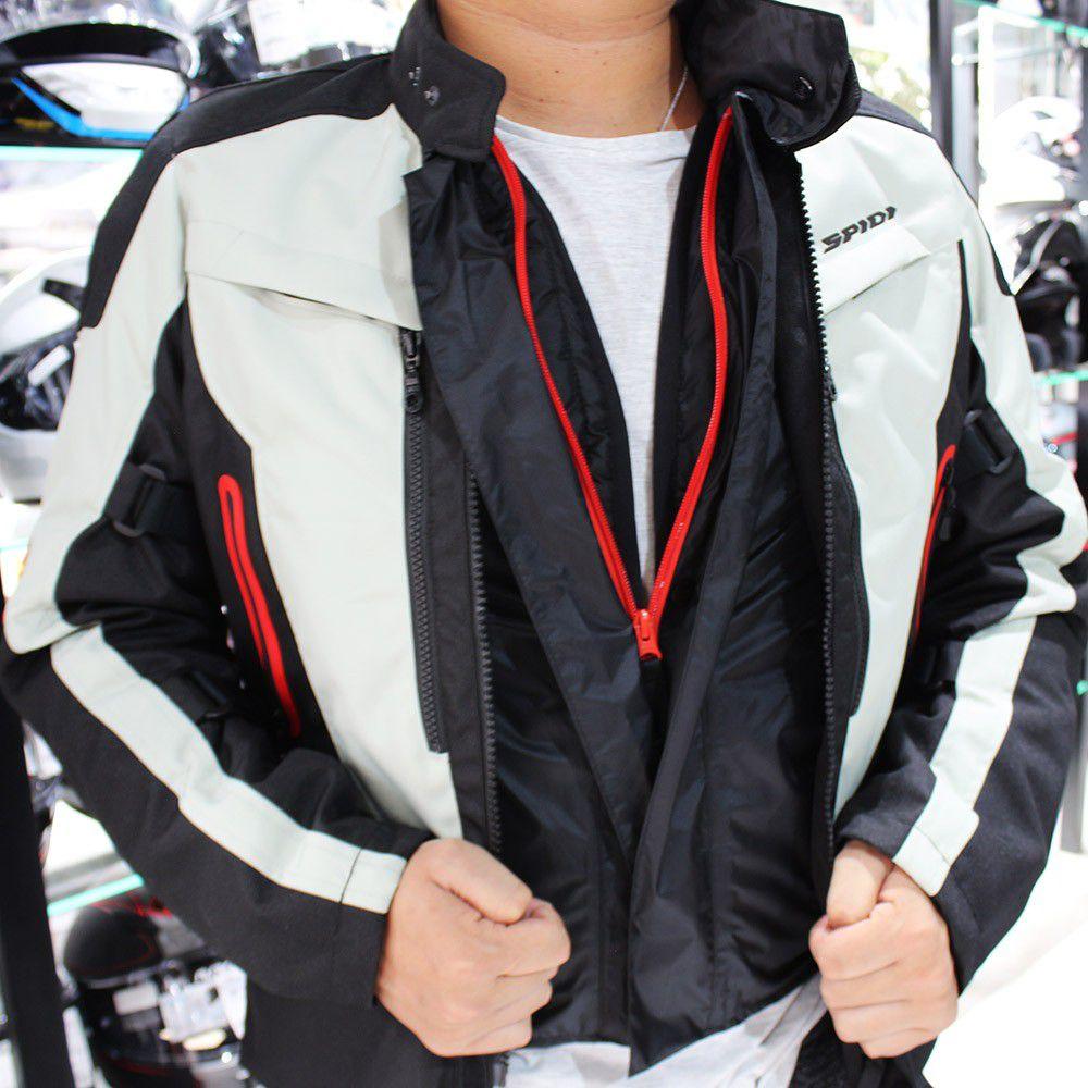 Jaqueta Spidi Voyager 4 H2Out Impermeável - Semana do Motociclista  - Nova Suzuki Motos e Acessórios