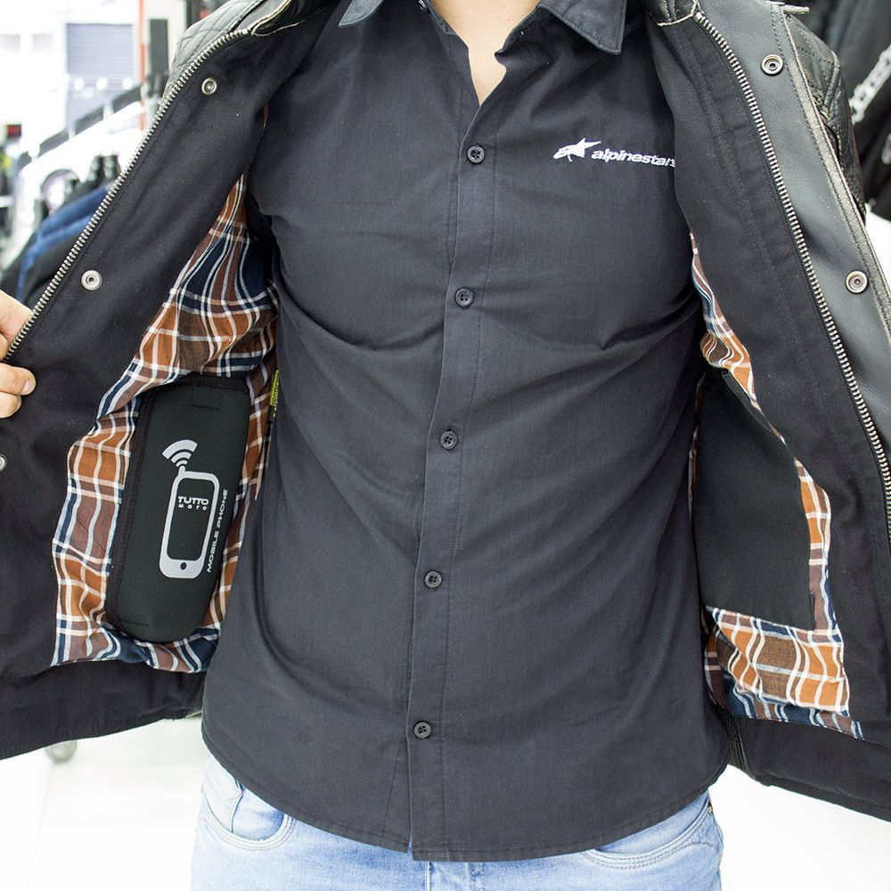 Jaqueta Tutto Custom Couro Men  - Nova Suzuki Motos e Acessórios