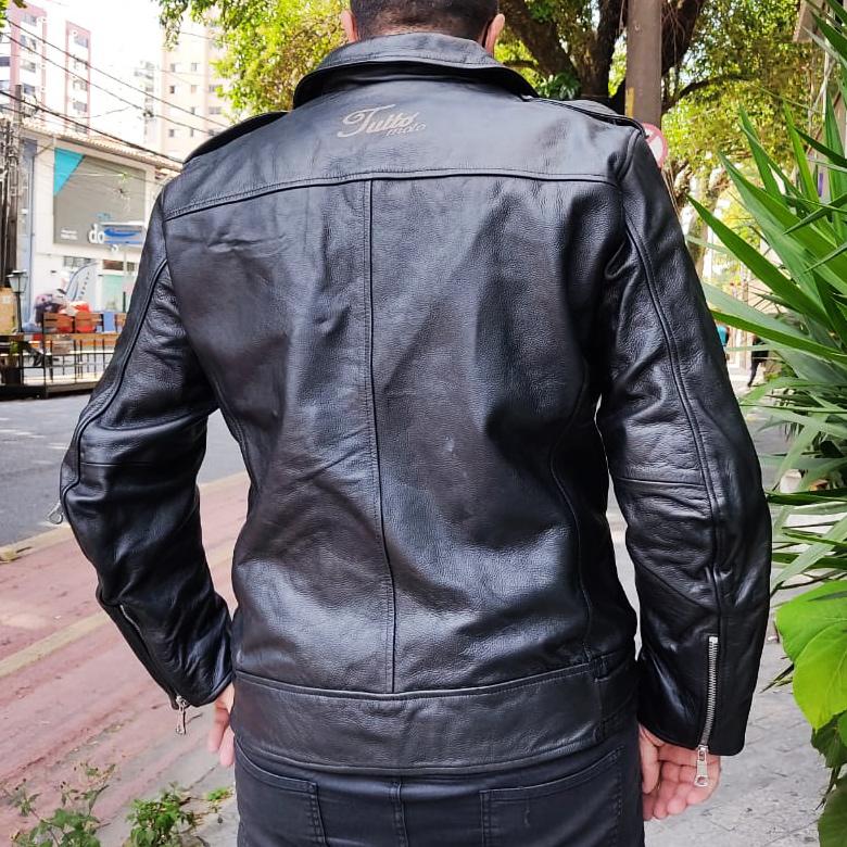Jaqueta Tutto Fashion Man Couro - Super Queima   - Nova Suzuki Motos e Acessórios