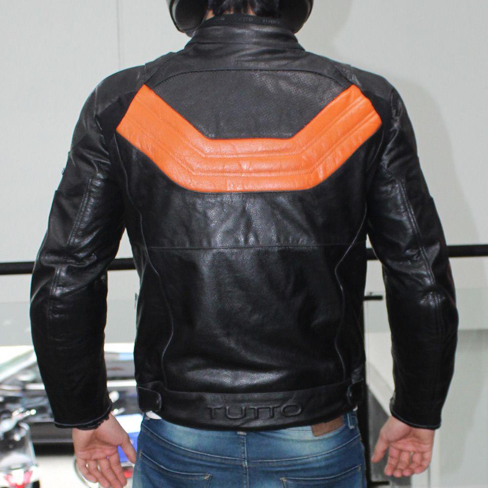 Jaqueta Tutto Moto Collection Couro  - Nova Suzuki Motos e Acessórios