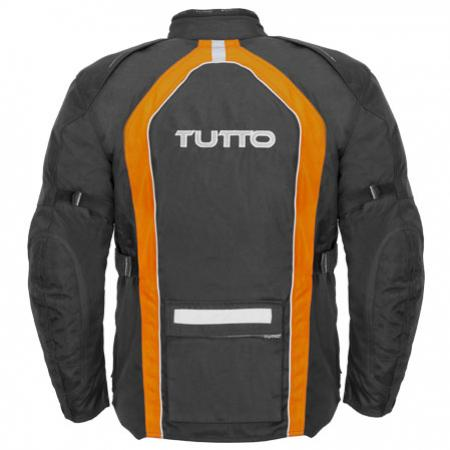 Jaqueta Tutto Moto  Varese Laranja 100% Impermeável  - Nova Suzuki Motos e Acessórios