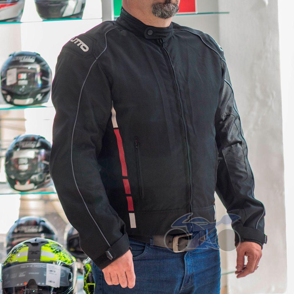 Jaqueta Tutto Moto Wind Winter Impermeável  - Nova Suzuki Motos e Acessórios