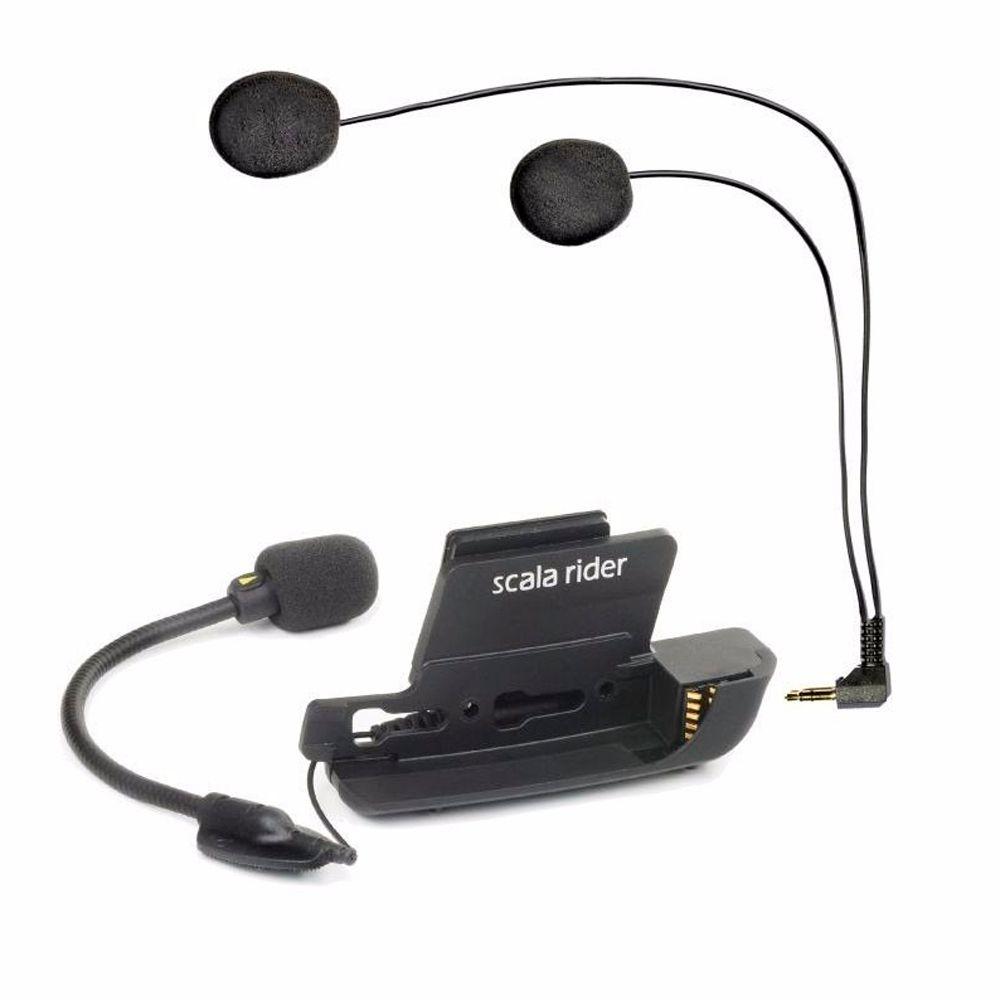 Kit Audio e Microphone Cardo p/ G4  - Nova Suzuki Motos e Acessórios