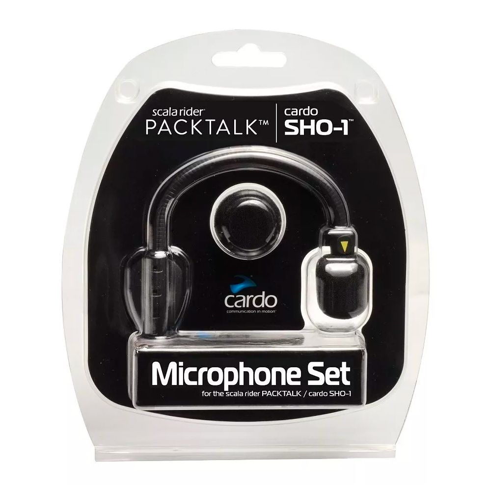 Kit Microfone Sho 1 - Cardo  - Nova Suzuki Motos e Acessórios