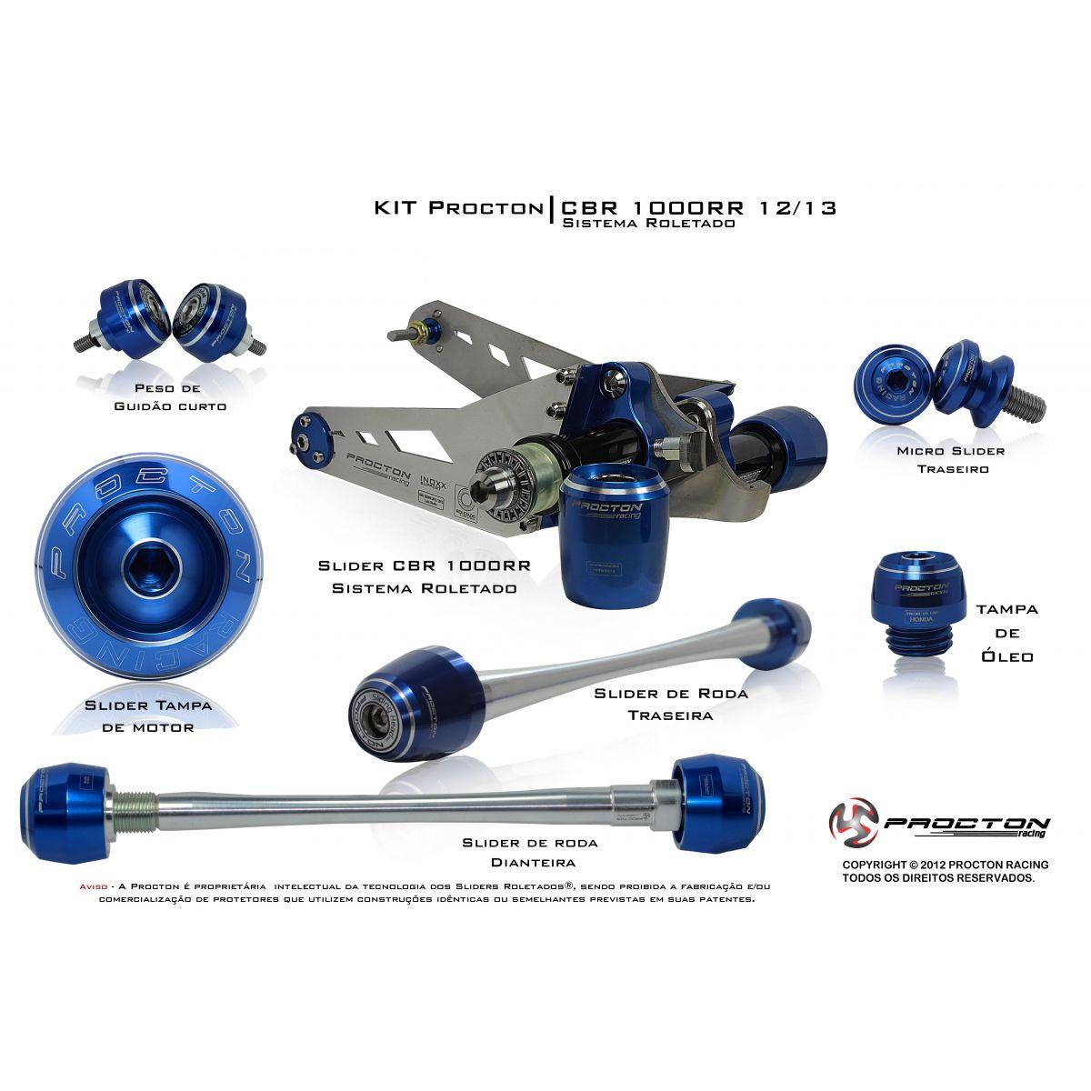 KIT Procton CB1000R  - Nova Suzuki Motos e Acessórios