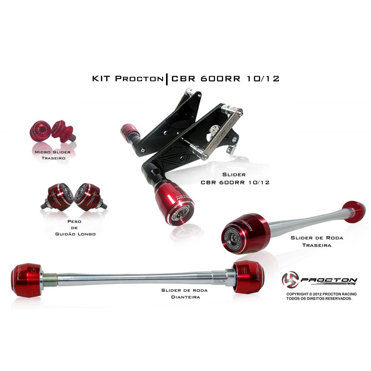 KIT Procton Honda CBR600RR  - Nova Suzuki Motos e Acessórios