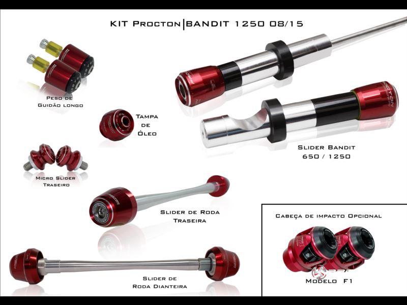 KIT Procton Suzuki Bandit 1250  - Nova Suzuki Motos e Acessórios