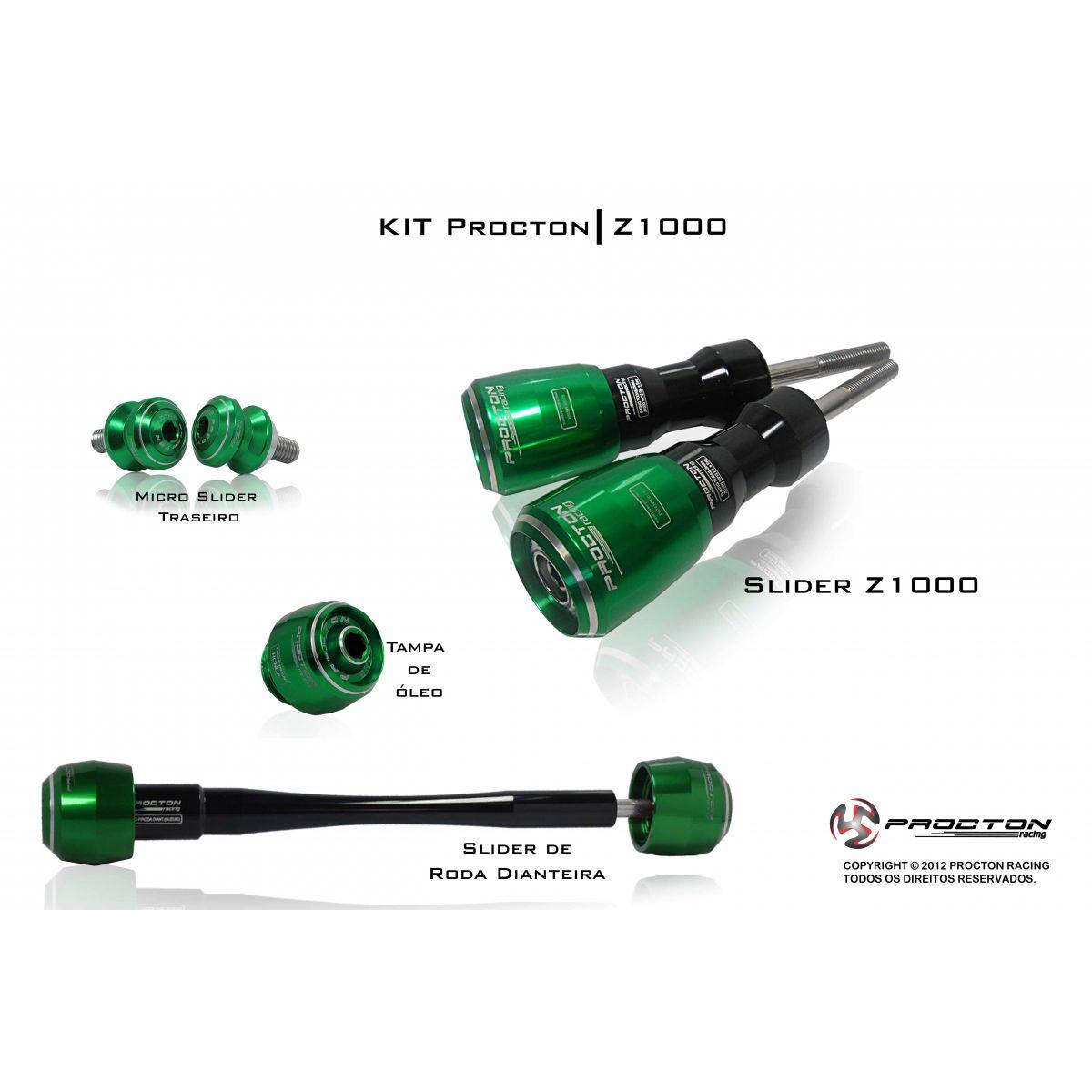 KIT Procton Kawasaki Z1000  - Nova Suzuki Motos e Acessórios
