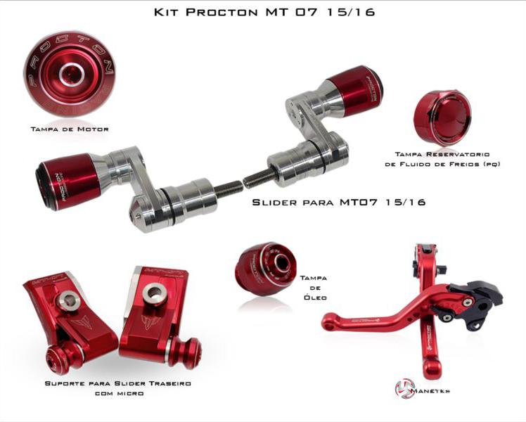 KIT Procton Yamaha MT 07  - Nova Suzuki Motos e Acessórios