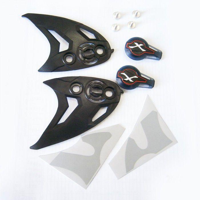 KIT trava p/Capacete Nexx XR2 (NOVOS)  - Nova Suzuki Motos e Acessórios