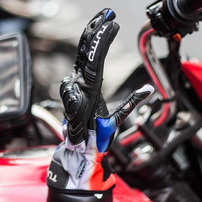 Luva Tutto Moto Naked Preta/ Ice Cream NOVA!   - Nova Suzuki Motos e Acessórios