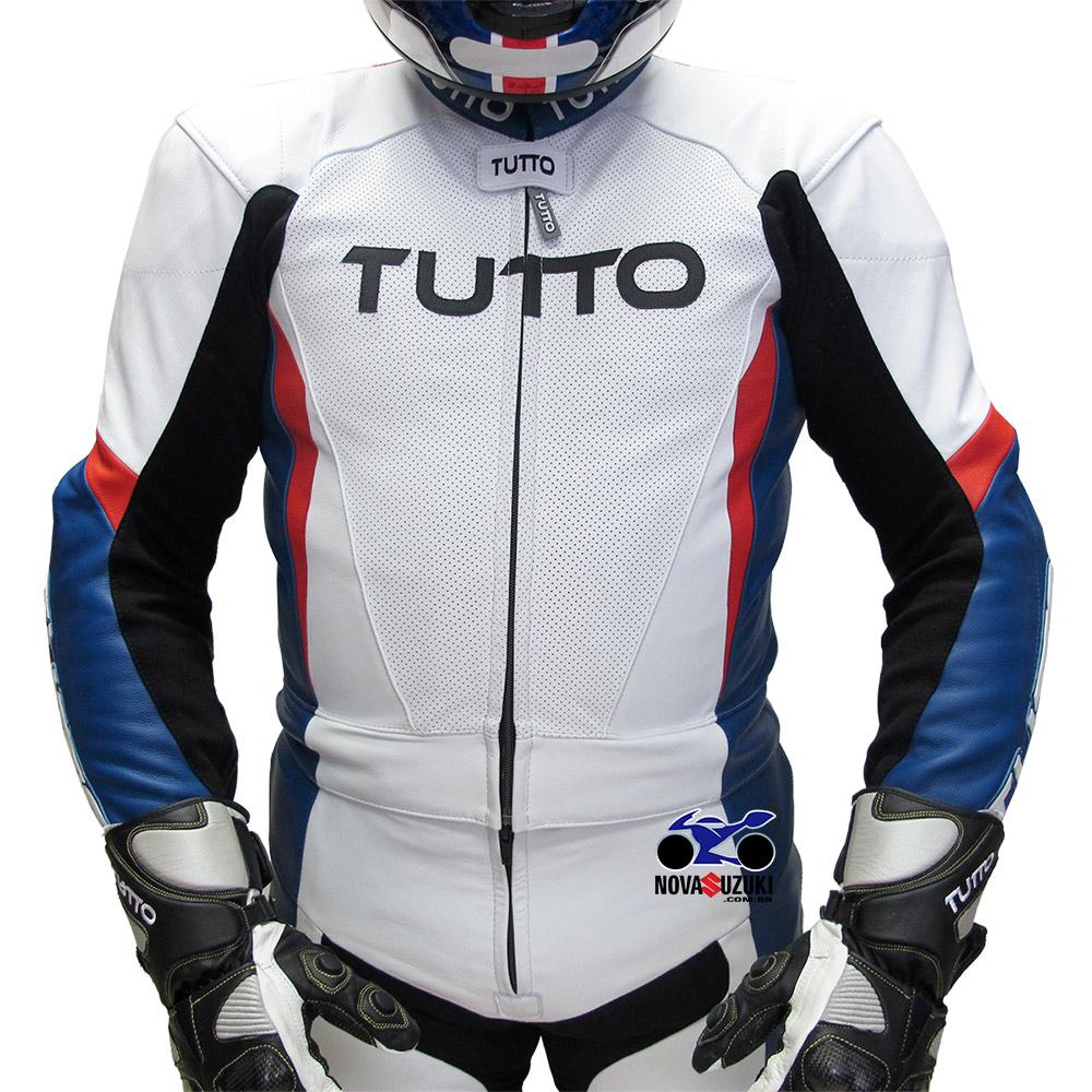Macacão Tutto Moto BM 2 pçs (BMW)  ( SÓ O TAM 50 )  - Nova Suzuki Motos e Acessórios