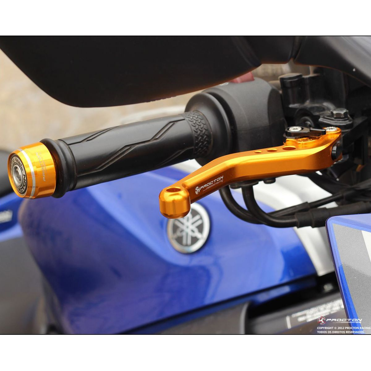 Manete Procton Racing B-KING 2009-2012 (F-35/S-31)  - Nova Suzuki Motos e Acessórios